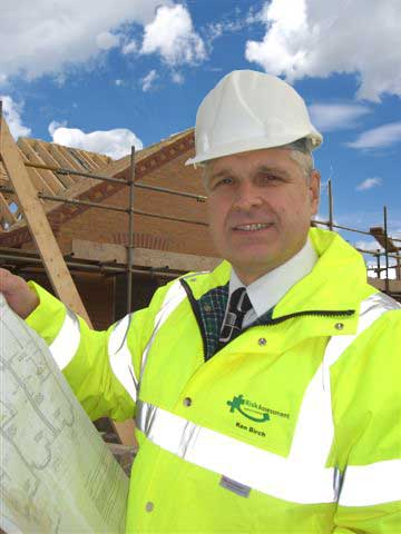 Ken Birch of Risk Assessment Solutions, Stafford. Health & Safety Consultant and Fire Risk Assessor